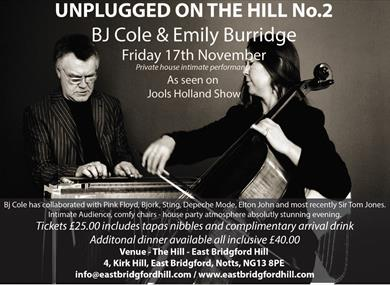 (No.2 Music on the Hill) BJCole and Emily Burridge at East Bridgford Hill