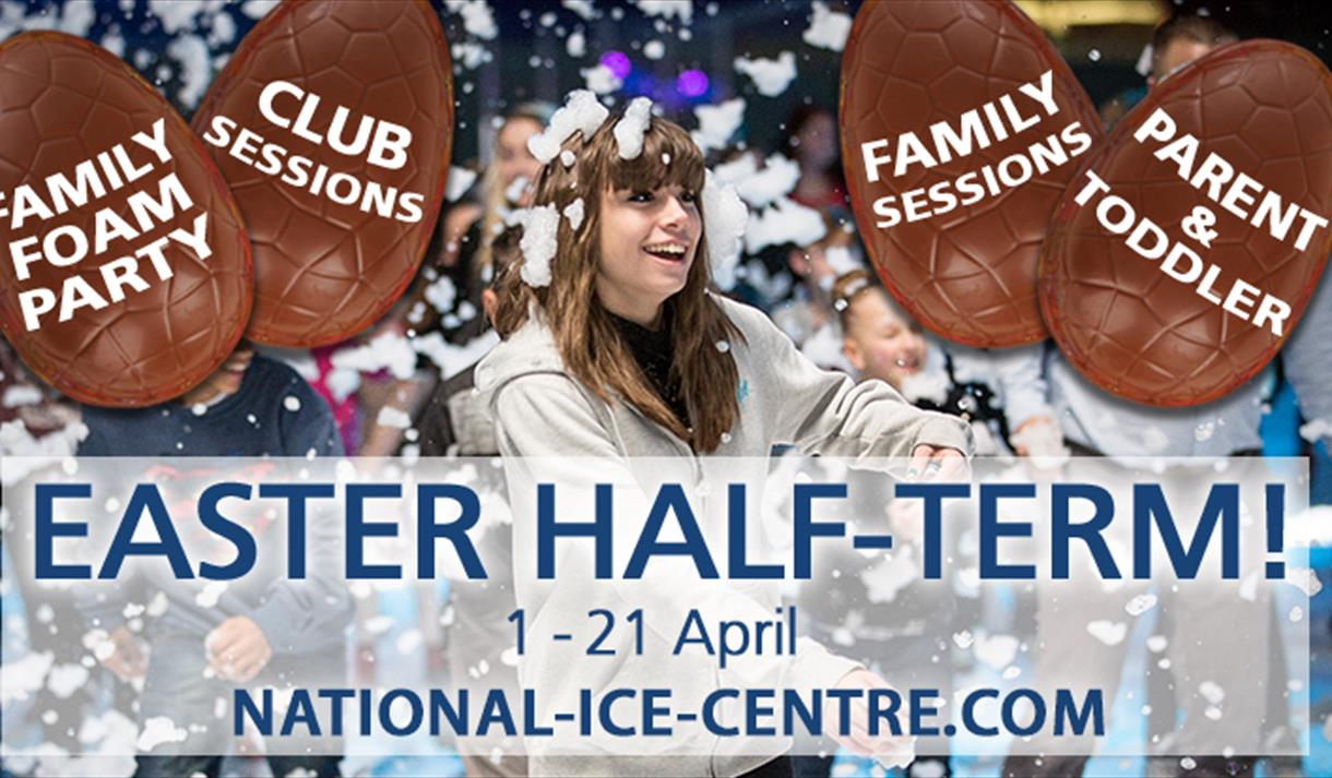 Easter Half Term Skating at the National Ice Centre