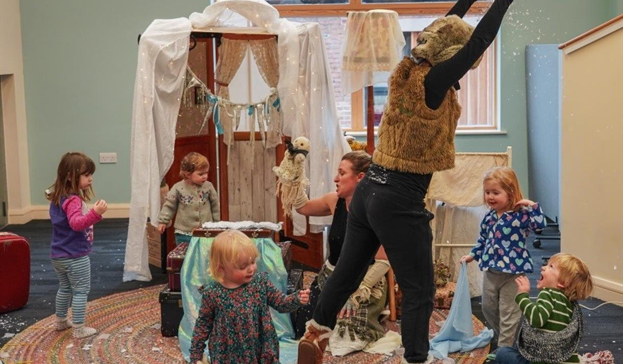 Children's Workshops with Nottingham Playhouse