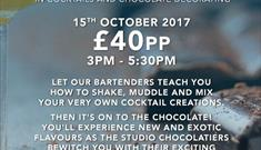 Be At One presents a Masterclass in Cocktails and Chocolate Decorating
