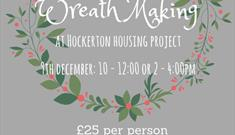 Make Your Own Christmas Wreath at Hockerton Housing Project