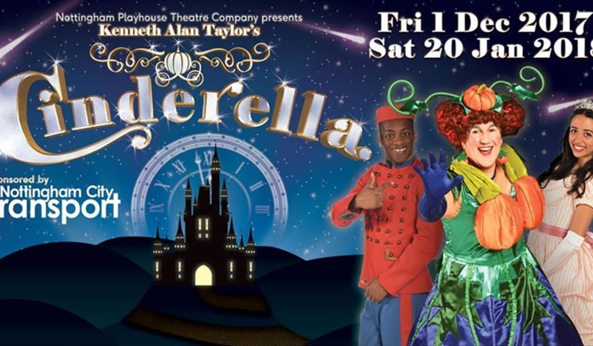 Cinderella at Nottingham Playhouse