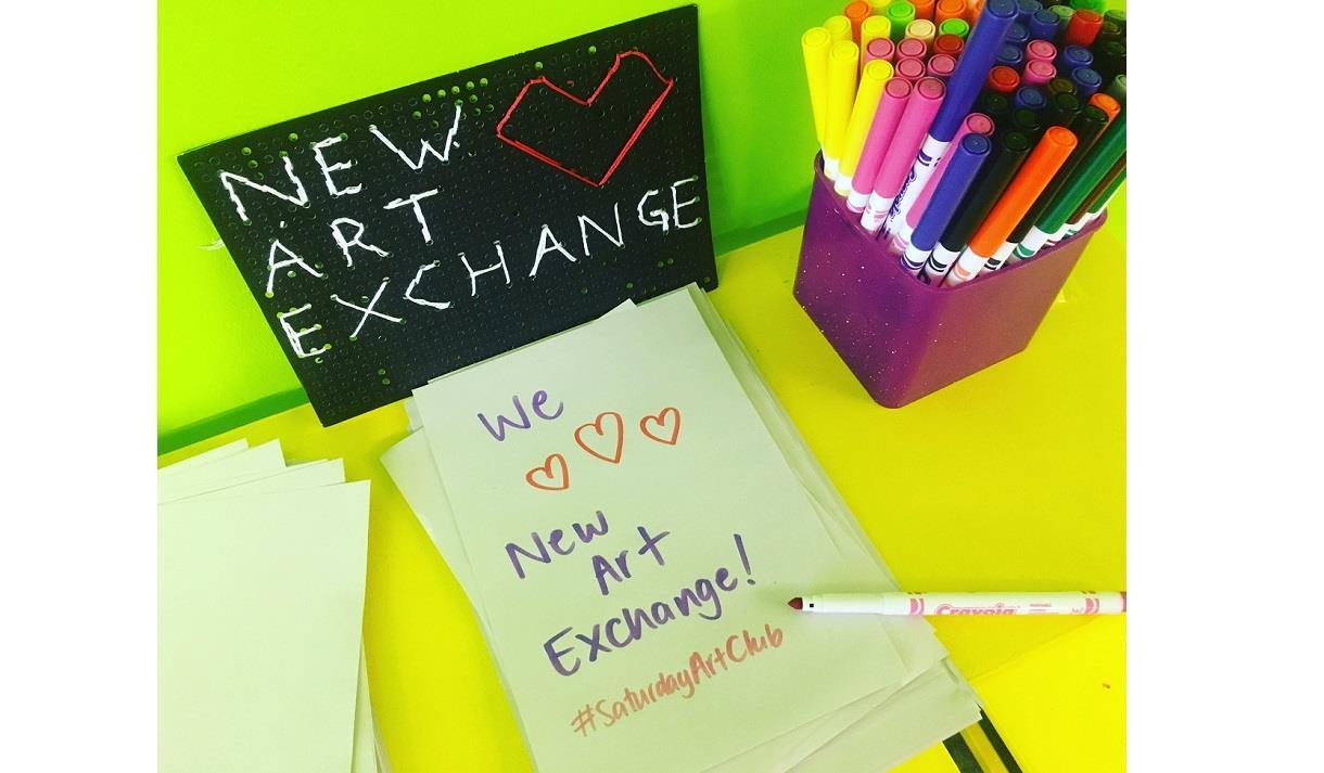 New Art Exchange's Saturday Art Club Online