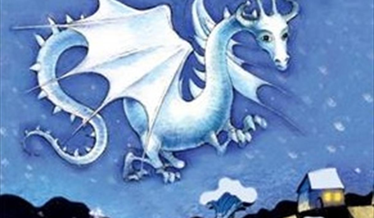 Snow dragon lakeside arts