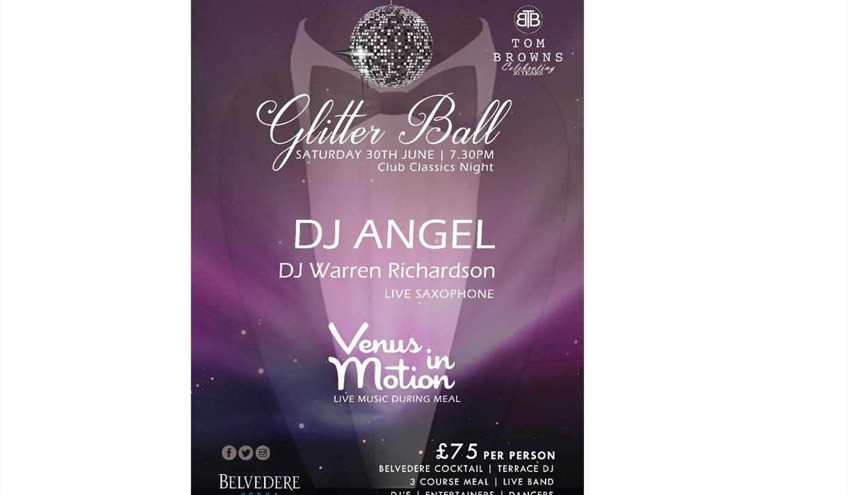 Glitter Ball 2018 at Tom Browns