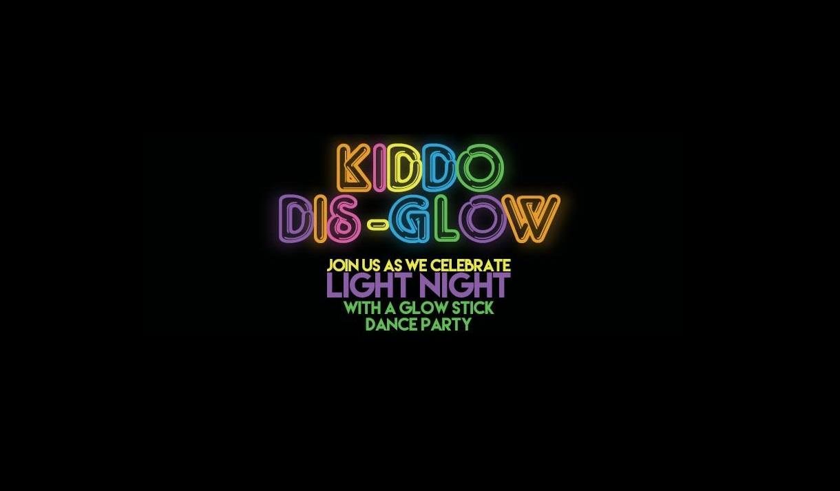 Kiddo Dis-Glow at Malt Cross Light Night