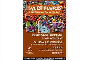 Latin Fusion Evening at Tom Browns