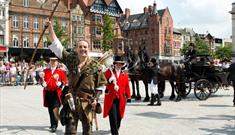 Lord Mayor's Parade and FREE Fun Day at Nottingham Castle
