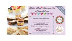 Mother's Day Afternoon Tea at Creswell Crags