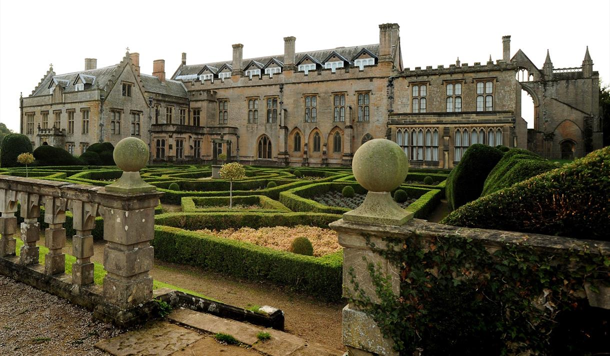 Meet the Ghosts of Newstead Abbey Halloween