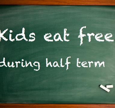Kids eat free during half term