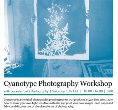 Cyanotype Photography Workshop with Leicester Lo-Fi Photography