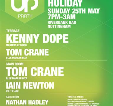 Pop Up Party - Bank Holiday