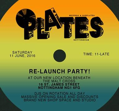 Plates Relaunch Party