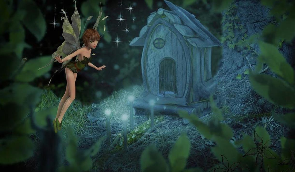 Enchanted Fairy Trail at Rufford Abbey Country Park