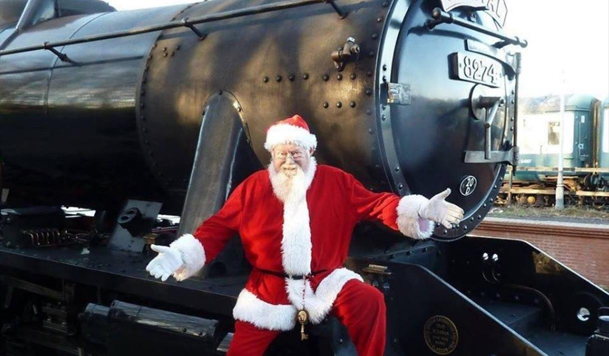 Santa Specials with the Great Central Railway