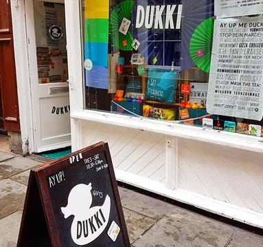 Dukki Designs on St James's Street, Nottingham