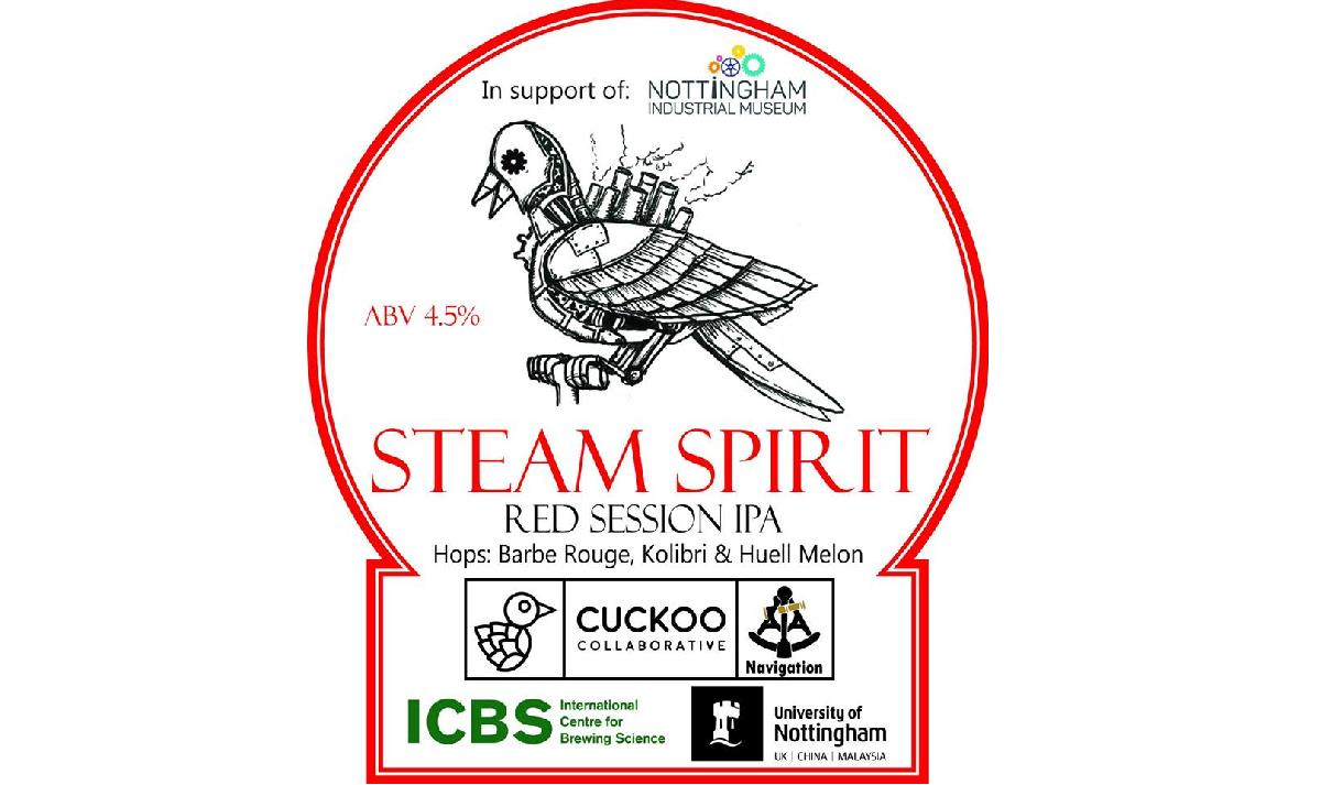 Nottingham Industrial Museum 'Steam Spirit' Beer Launch at Cross Keys