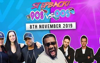 Stepback! (90s vs 00s) at Motorpoint Arena