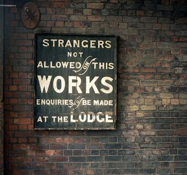 Strangers Not Allowed On This Works