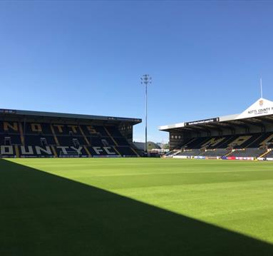 Notts County - Sky Bet League Two Football at Meadow Lane