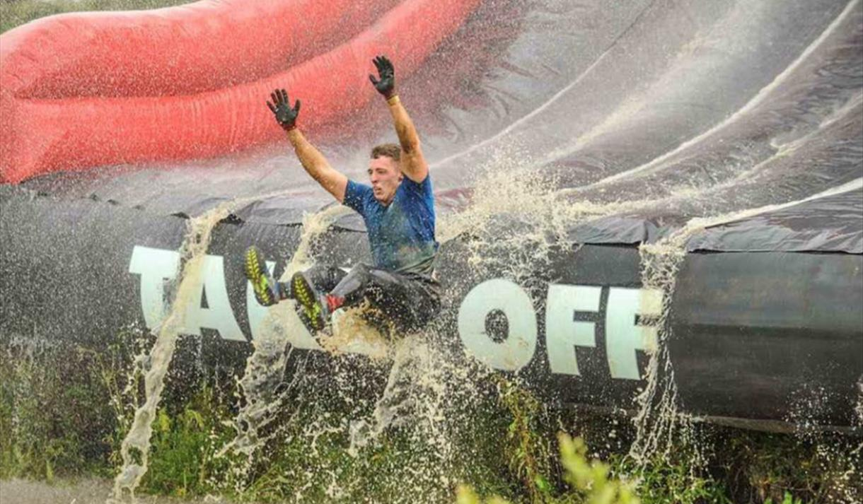 Obstacle Race Warrior Assault Course at Holme Pierrepont Country Park