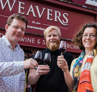Push Your Palate: Wine Tasting at Weavers