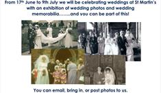 St Martin's Bilborough Wedding Photo Exhibition